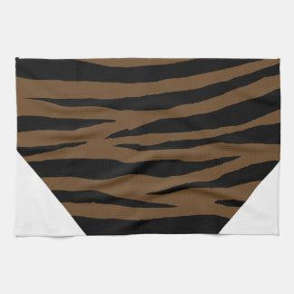 Otter Brown Tiger GH Kitchen Towel