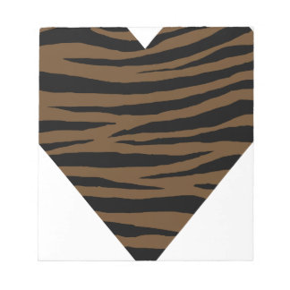 Otter Brown Tiger GH Notepad
