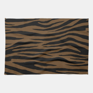 Otter Brown Tiger Kitchen Towel