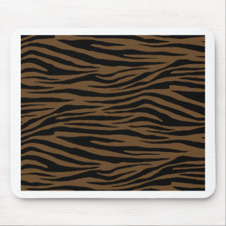 Otter Brown Tiger Mouse Pad