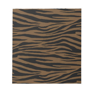 Otter Brown Tiger Notepad