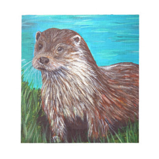 Otter by a River Notepad