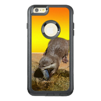 Otter Eating Otterly Delicious Fish, OtterBox iPhone 6/6s Plus Case