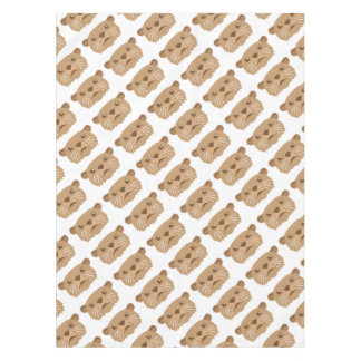 otter face tablecloth