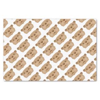 otter face tissue paper