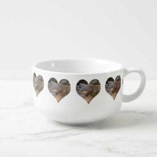 Otter In A Love Heart, Soup Mug