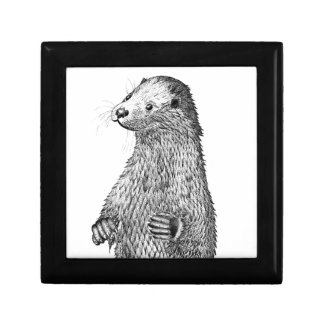 Otter Keepsake Boxes