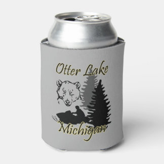 Otter Lake Michigan Can Cooler