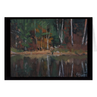 Otter Lake Reflection Card