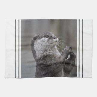 Otter Mastermind Kitchen Towel