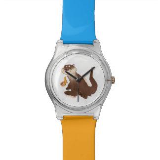 Otter n' Goldfish watch