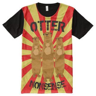 Otter Nonsense All-Over-Print T-Shirt