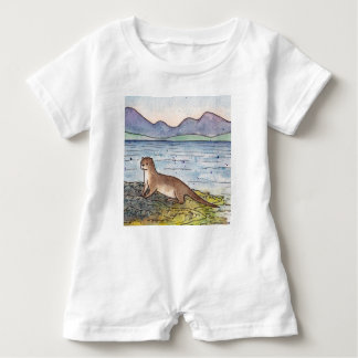 otter of the loch baby romper