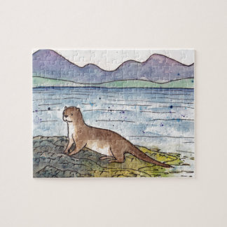otter of the loch jigsaw puzzle