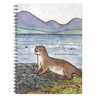 otter of the loch notebooks