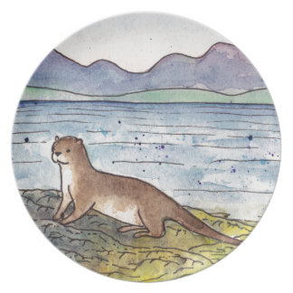 otter of the loch plate