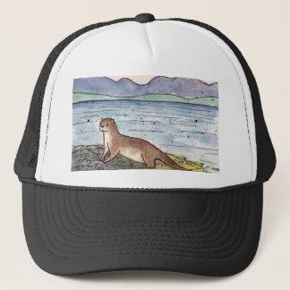 otter of the loch trucker hat