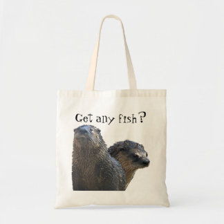 otter, otter 2, Get any fish? Tote Bag