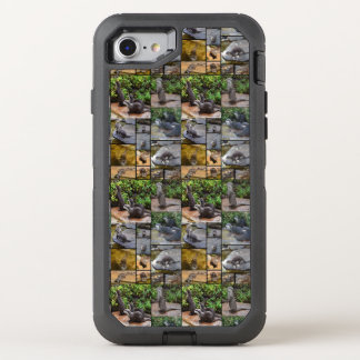 Otter Photo Collage, iPhone Seven Defender Case.