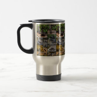 Otter Photo Collage, Travel Coffee Mug. Travel Mug