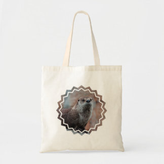 Otter Photo Small Canvas Bag