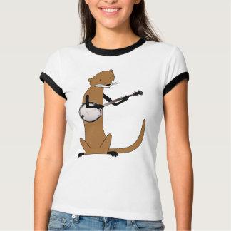 Otter Playing the Banjo T-Shirt