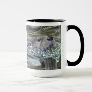 Otter Pops!  15 oz mug