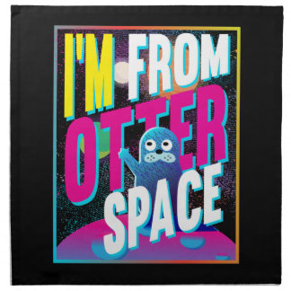 Otter Space - Cute Sea Novelty Napkin
