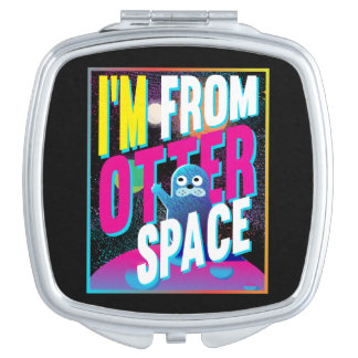 Otter Space - Cute Sea Novelty Travel Mirror