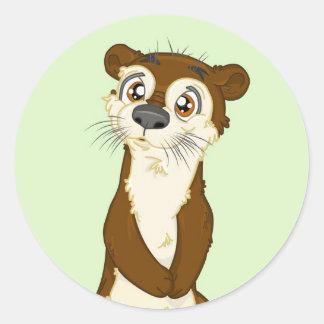 Otter Sticker