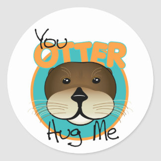 Otter Stickers