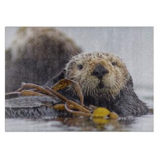Otter Surprise cutting board