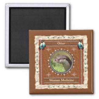 Otter  -Woman Medicine- Magnet