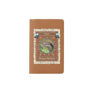 Otter  -Woman Medicine- Notebook Moleskin Cover