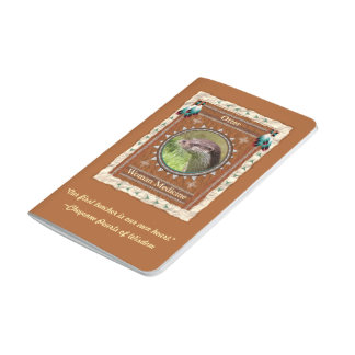 Otter  -Woman Medicine- Pocket Journal