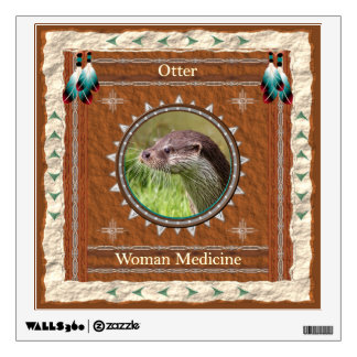 Otter  -Woman Medicine- Wall Decal