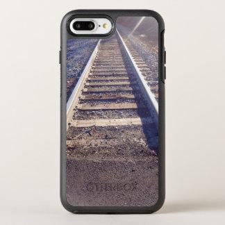 Otterbox case for Iphone 8plus/7 w/railroad tracks