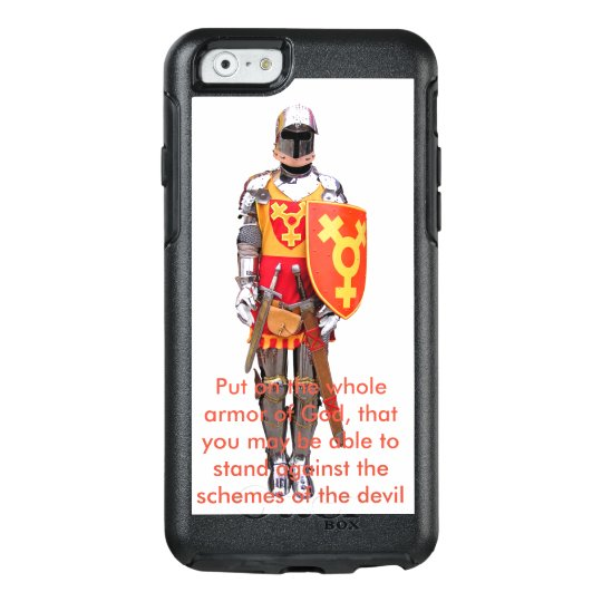 Otterbox cell phone protector Armour Of God OtterBox iPhone 6/6s Case