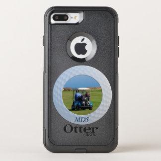Otterbox Golf Ball Framed Photo Monogram OtterBox Commuter iPhone 8 Plus/7 Plus Case
