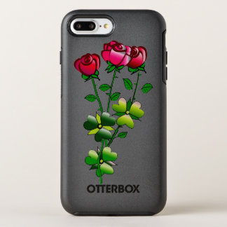 Otterbox with Roses Illustration OtterBox Symmetry iPhone 7 Plus Case