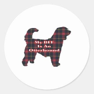 Otterhound BFF Sticker
