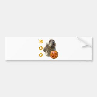 Otterhound Boo Bumper Sticker
