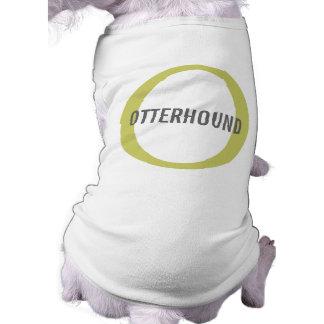 Otterhound Breed Monogram Dog T-shirt