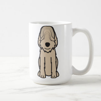 Otterhound Dog Cartoon Coffee Mug
