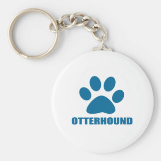 OTTERHOUND DOG DESIGNS KEYCHAIN