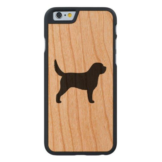 Otterhound Silhouette Carved® Cherry iPhone 6 Slim Case