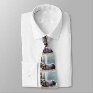 Otterly cute tie