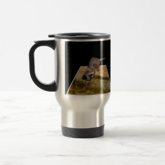 Otterly Delicious Fish, Otter, Commuter Mug