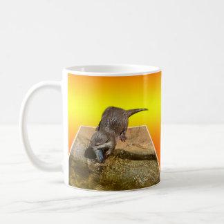 Otterly Orange, Coffee Mug