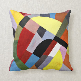Otto Freundlich - Abstract Composition Throw Pillow